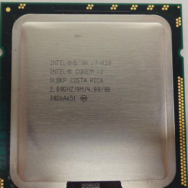 100% work Intel Core i7 930 2.8GHz SLBKP LGA1 366 (AT80601000897AA) Processor