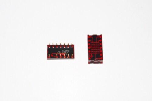 TIL305 TI 5x7 alfanumérico de oro Pin opto Pantalla LED numéricas Nuevo
