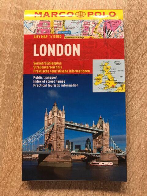 Marco Polo, City Map, London, Isbn: 9783829730617
