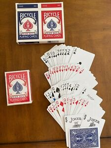 Bicycle-Playing-cards-double-set-rider-back-Complete-Sets-POKER
