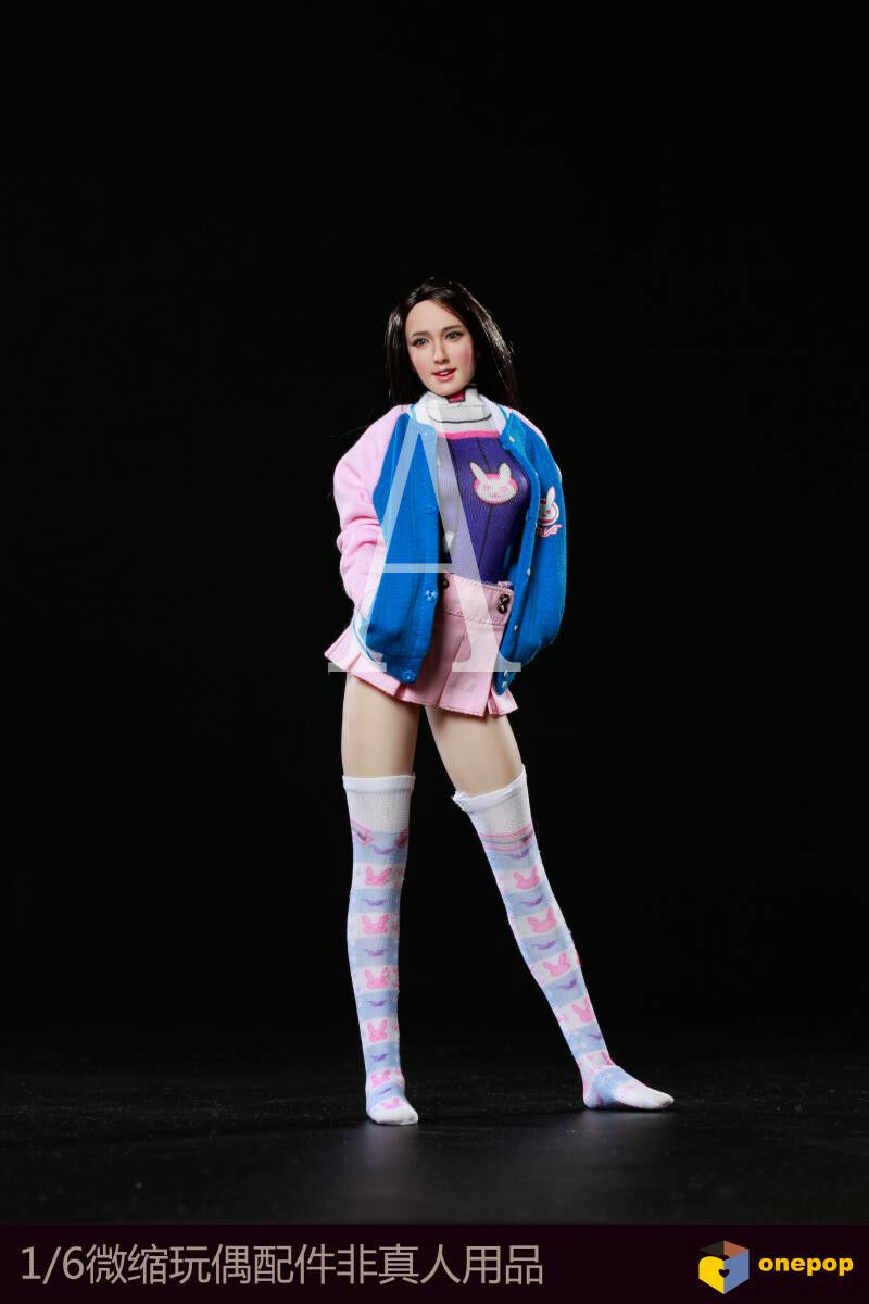 Onepop 1/6 Electronic Sports Baby Female Costume Clothing Suit DV-01 For Phicen