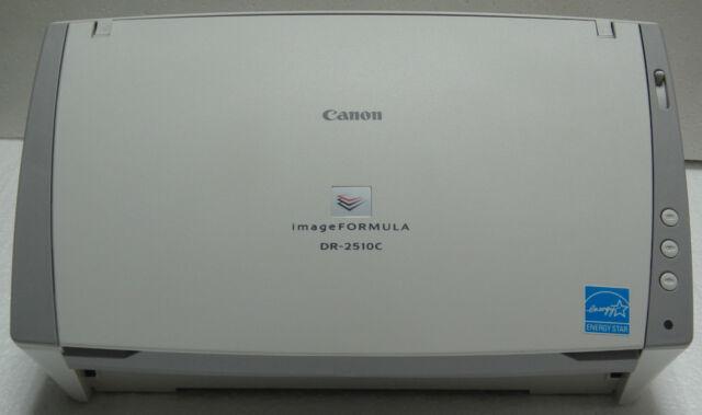 Canon imageFORMULA DR-2510C Scanner Driver
