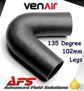 Tuyau flexible en silicone pour tuyau dair Noir Longueur 1 m 1 45mm