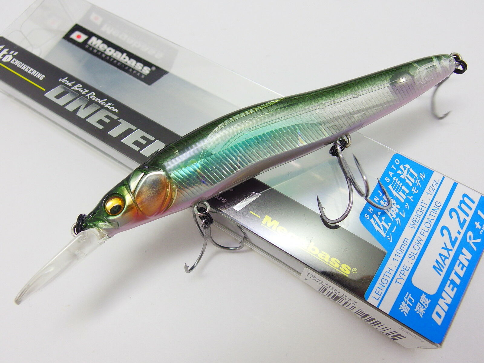 MEGABASS ITO VISION ONE TEN 110 JERKBAIT SPAWNING OIKAWA JAPAN ONLY COLOR