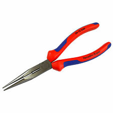 Knipex 200mm Long Nose Pliers with Cutter