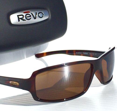 NEW* REVO THRIVE in Tortoise w POLARIZED Brown Lens Sunglass RE 4037 02 BR