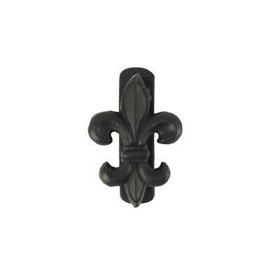 4 Cast Iron Fleur De Lis Door Knocker Rustic Metal Hardware French Home Decor Ebay