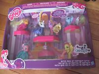 My Little Pony ROYAL BALL at CANTERLOT CASTLE includes 7 Ponies with Spike NEW