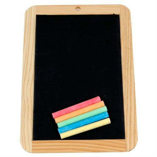 Chalk Slate Creation Station Chalk Slate with 5 colored Chalks CS4325