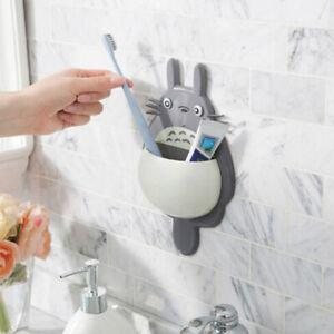 Creative Cartoon Frog Sucker Tooth Brush Holder Suction Hanger Rack For Kids