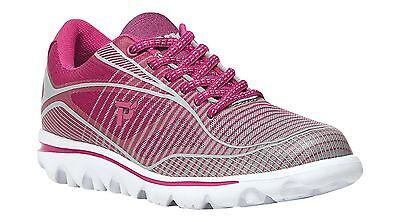 Propet Women Billie W5100 Light Weight Walking Running Sneaker Shoes PINK