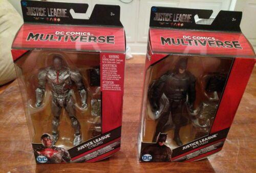 DC Multiverse Justice League CYBORG /& BATMAN Mother Boxes Walmart Exclusive
