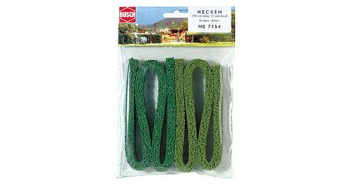 Busch 7154 h0 structure haies 1 m clair//vert moyen Neuf neuf dans sa boîte,