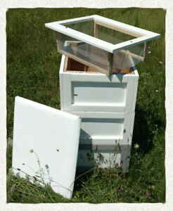 """Beehive Kit for all seasons """"The 4SB"""" a true 4 Season Beehive Complete System"""