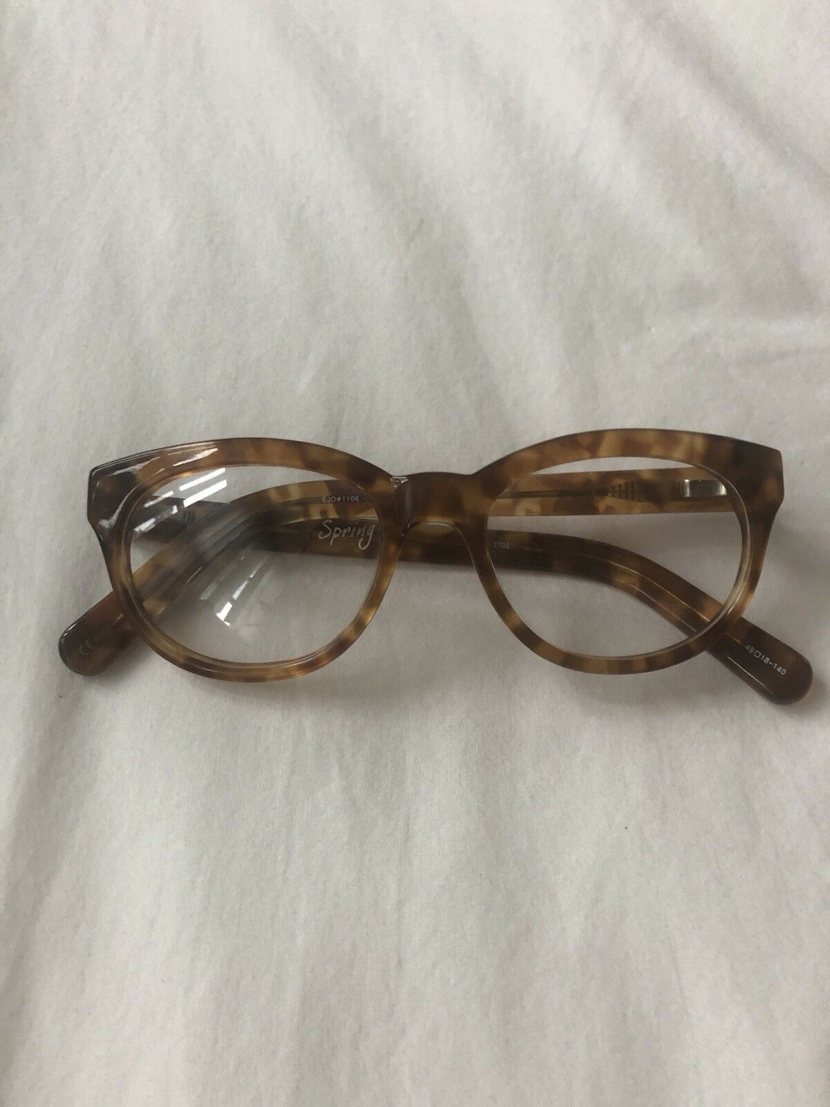 Warby Parker Tortoise Round With Slight Cat Eye G… - image 6