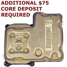 2003-2005 Chevy Blazer ABS Pump Control Module REMANUFACTURED EXCHANGE 03 04 05