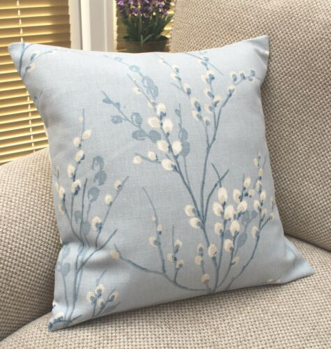 Laura Ashley Cushion Covers Seaspray Awning Stripe PUSSY WILLOW Various Sizes