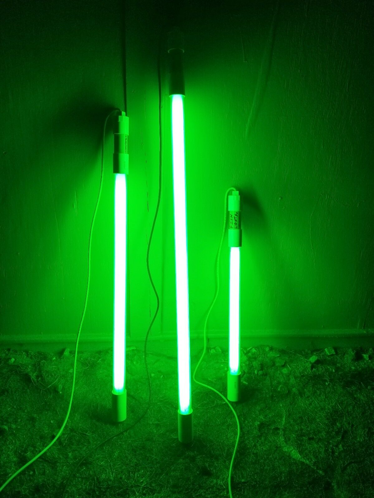 24   GREEN FISH LIGHT, NIGHT FISHING LIGHTS ,  SUBMERSIBLE  2 ft  simple and generous design
