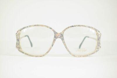 Ausdrucksvoll Vintage Nou Vogue W60 56[]13 125 Bunt Oval Brille Brillengestell Eyeglasses Nos