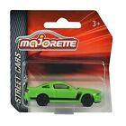 Majorette Vehículo de Juguete: Mustang Boss 302 1:64 - Verde