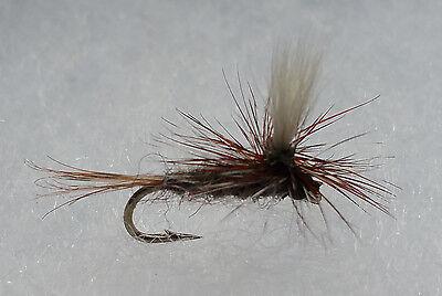 Adam/'s Size 16 Dry Flies from USA 12 1 Dozen