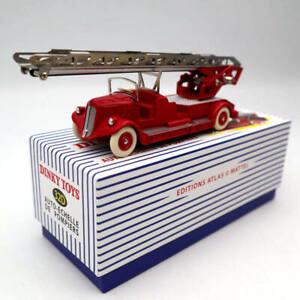 Atlas-Dinky-toys-32D-Auto-Echelle-DE-Pompiers-Fire-Engine-Diecast-Models-Car