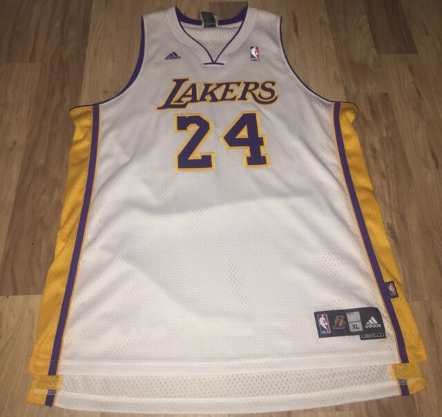 a1cbcf94b KOBE BRYANT LAKERS JERSEY LOS ANGELES ADIDAS AUTHENTIC JAMES LONZO NBA HOME