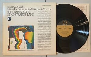 Donald-Erb-Music-For-Instruments-amp-Electronic-Sounds-LP-1969-Nonesuch-NM-VG