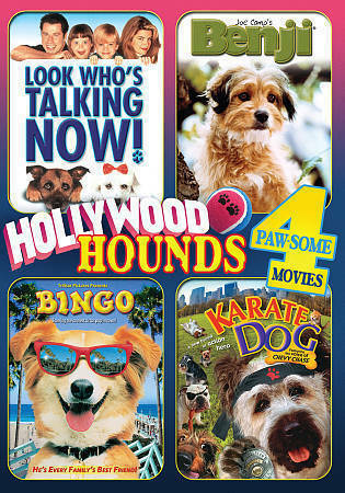 Hollywood Hounds - 4 Paw-some Movies! Lo DVD 2
