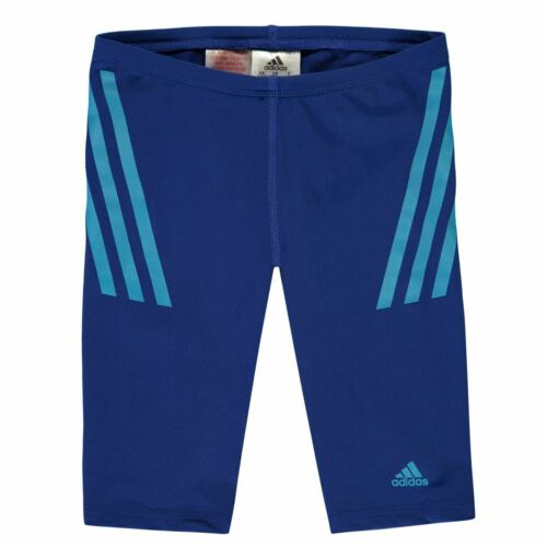 adidas Kids Boys Pro Jammers Junior Trunks Shorts Stripe Seamless Stretch