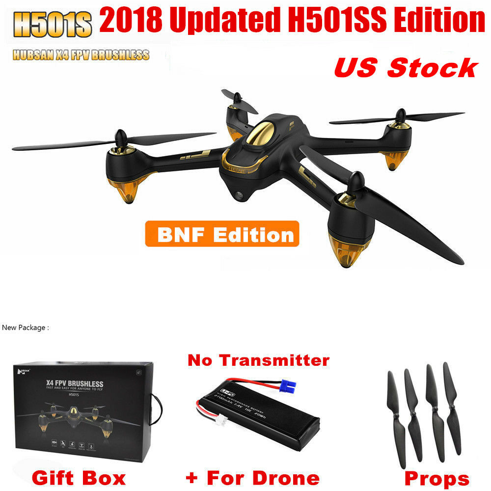 Hubsan X4 H501S RC Quadcopter FPV Brushless 1080P Headless Follow Me GPS Drone