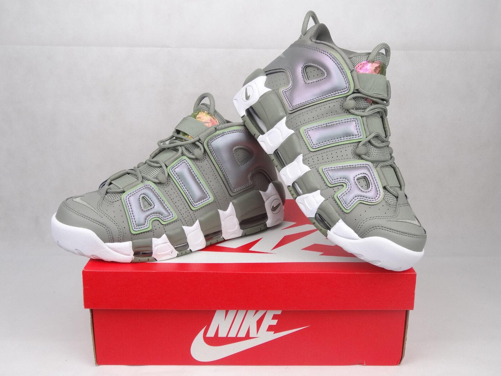 Nike Air More Uptempo Size Women Men Shoes Size Uptempo 7.5 UK / 42 EU Dark Stucco Green 8b3e12