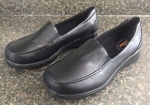 Safe T Step Black Men's Oxford Oil