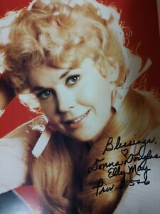 SIGNED-Donna-Douglas-8x10-Glossy-Photo-Autograph-Elly-May-Beverly-Hillbillies