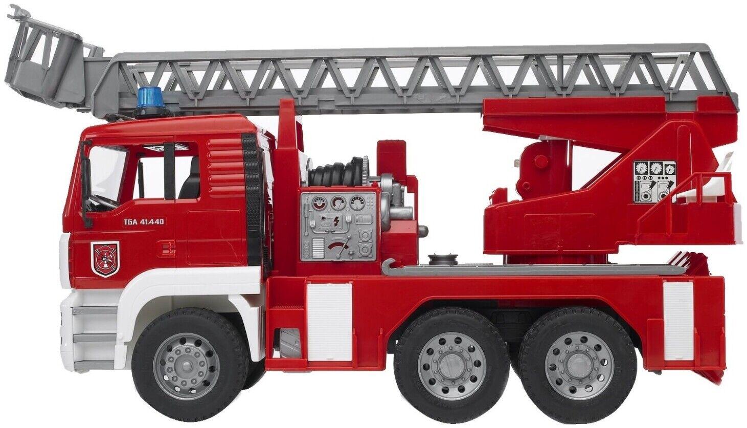 Bruder  MAN Feuerwehr Leiterfahrzeug 02771 Neu    Won hoch geschätzt und weithin vertraut im in- und Ausland vertraut