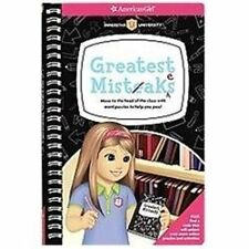 Greatest Mistakes: Move to the head of the class with word puzzles to help you p