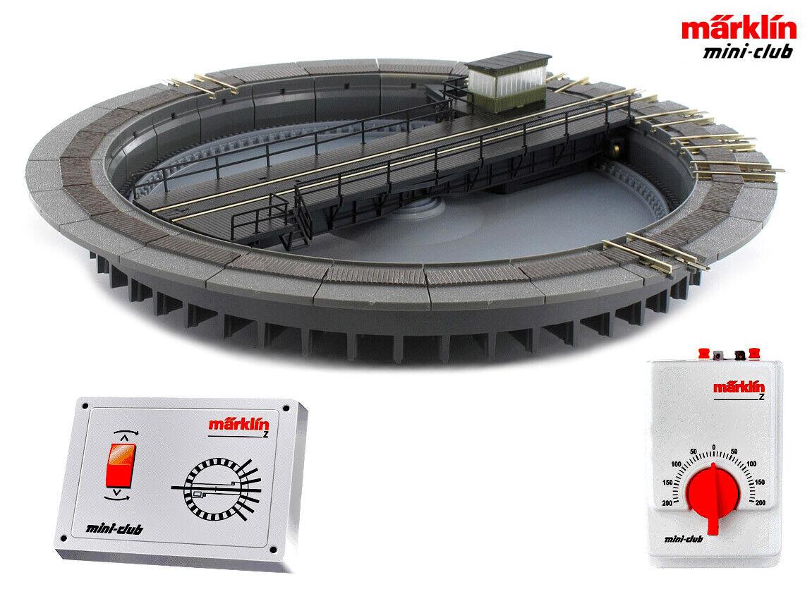 Märklin 89983 disco giratorio incl. panel de control remoto + dispositivo de conducción + + nuevo en OVP