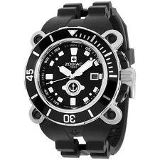 Zodiac Oceanaire Black Dial Stainless Steel Case Quartz Men's Watch ZO8532 ZMX05
