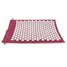 Purple Acupressure Massage Yoga Shakti Nail Mat Cushions Stress Pain Relief Bag
