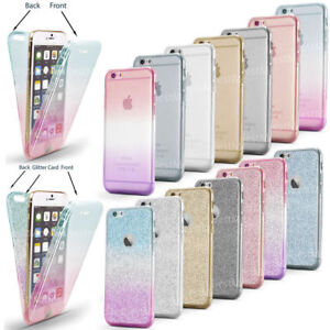Case-For-iPhone-XS-MAX-8-7-6s-XR-Cover-Shockproof-360-Silicone-Protective-Clear