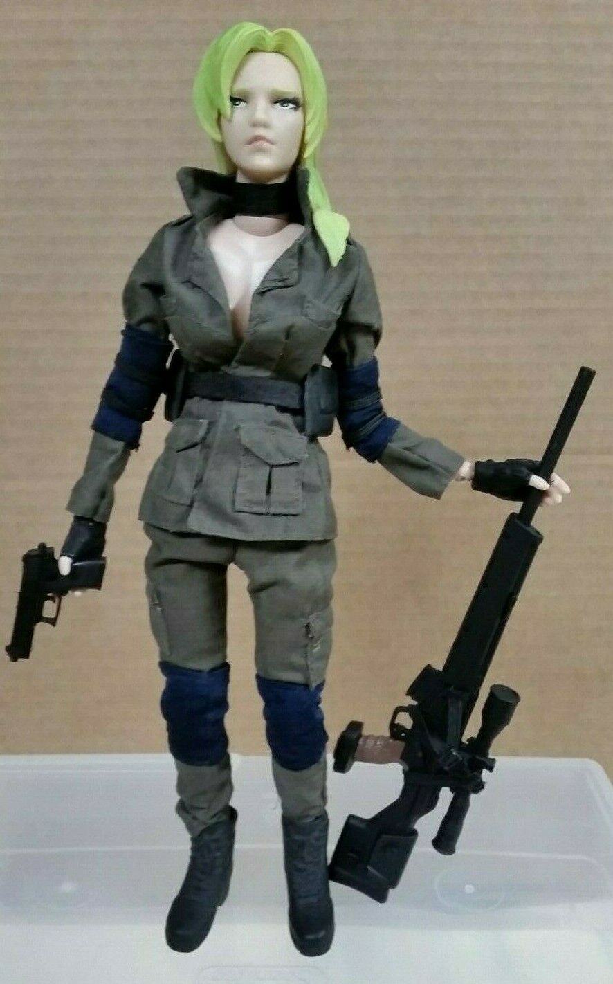 Yamato 2002 Metal Gear Solid 12  Sniper Wolf figure 1 6 Konami Doll Collection