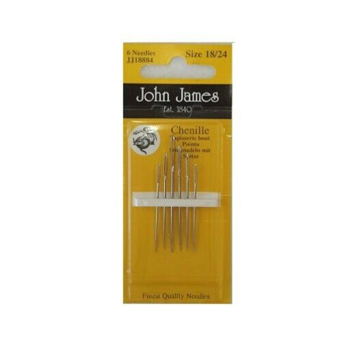 JOHN JAMES NEEDLES VARIOUS HAND SEWING NEEDLES