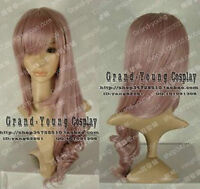 13 Final Fantasy Lightning Cosplay Wig Gray Pink Hair