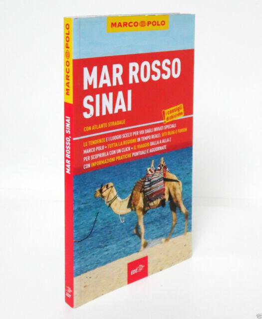 MAR ROSSO SINAI con atlante stradale Marco Polo guida Yurgen Stryjak
