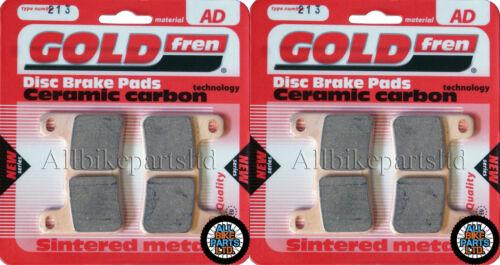 SUZUKI GSX-R 600 K9 FA379HH GOLDFREN FRONT BRAKE PADS 2x Sets GSXR600 2009