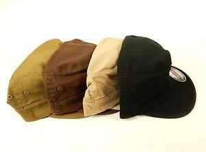 Uni Military Style Cadet Cap, Patrol, Army Hat, Flex Fit ~ Top Gun, Choice Of Colors