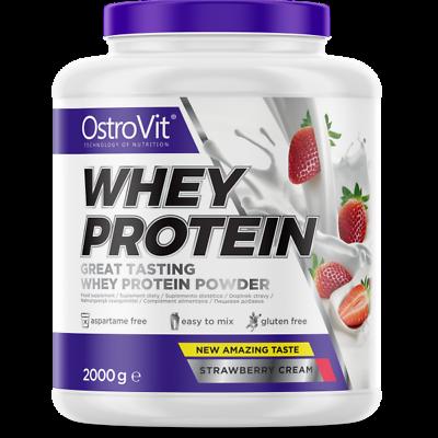 WPC - Muskelmasse 2000g Glutenfrei VERSAND WELTWEIT OSTROVIT Whey Protein