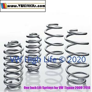 Lift Kit for VW Tiguan 2007-2018 German One-Inch Lifting Coil Springs Off Road