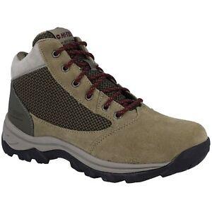 Hi-Tec Damen Trail Peak WP Trekking Outdoor Schuhe Stiefel Braun Wasserdicht