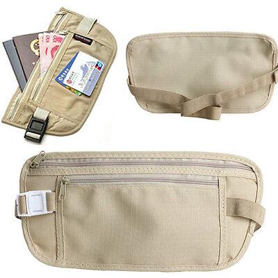 Waist Fanny Pack Bag Hip Thin Pocket Pouch Sport Travel Outdoor Adjustable Belt